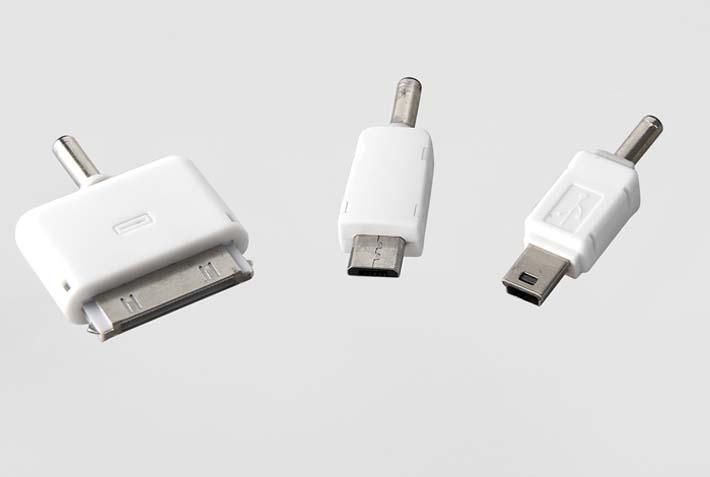 ozio奥舒尔ipad/iphone4车载充电器转接头评测